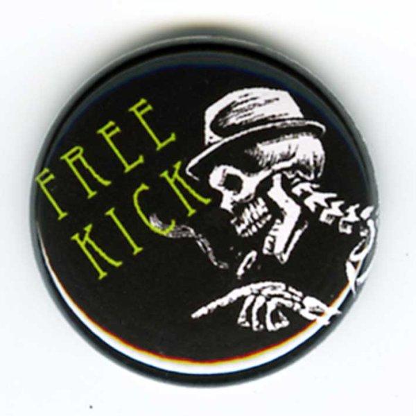 画像1: Free Kick / Smoking Skull バッヂ (1)