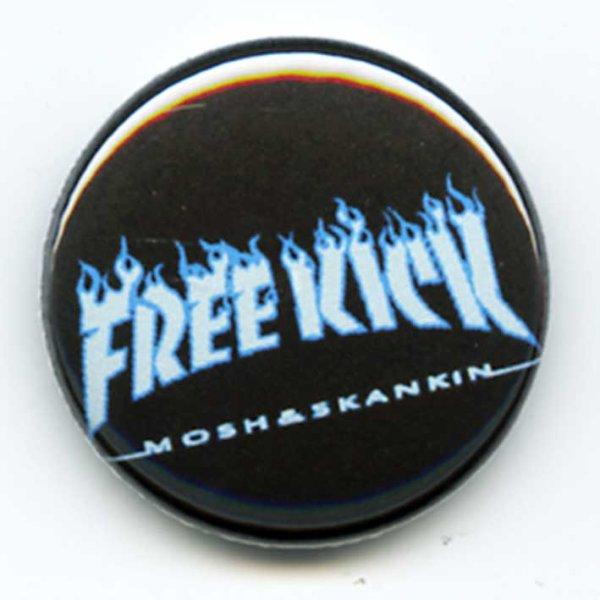 画像1: Free Kick / Thrash Blue バッヂ (1)