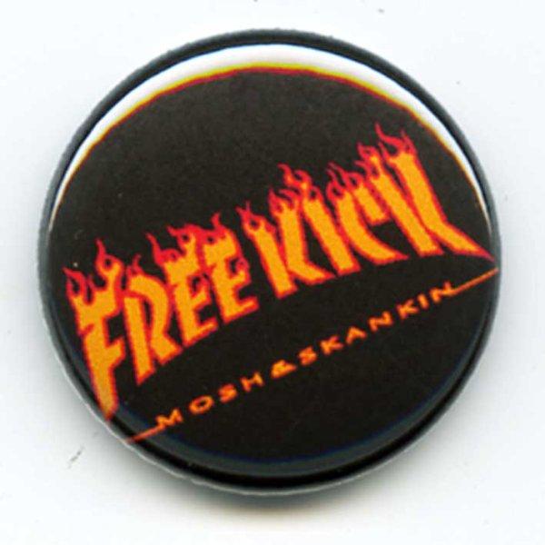 画像1: Free Kick / Thrash Red バッヂ (1)