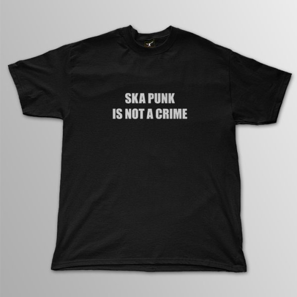 画像1: Ska Punk Is A Not Crime T/S (1)