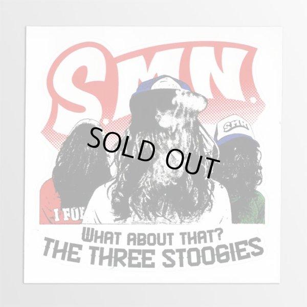 画像1: S.M.N. / Three Stoogies ステッカー (1)