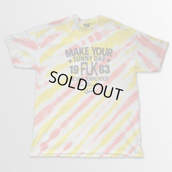 画像1: S.M.N. / Make Your Sunny Day Tour [Dyed] Lサイズ T/S (1)