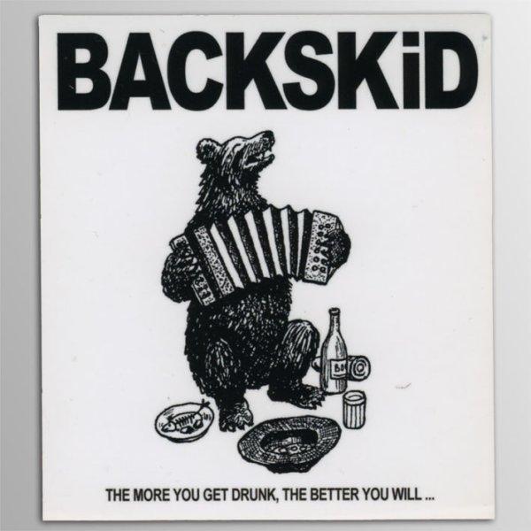 画像1: BACKSKiD / Bear ステッカー (1)