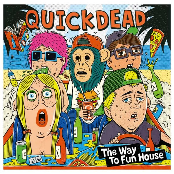 画像1: QUICKDEAD / The Way To Fun House【予約販売】 (1)