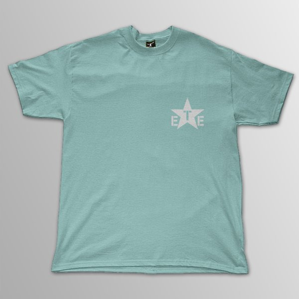 画像1: 1138 / Logo セラドン+ホワイト Tシャツ (1)