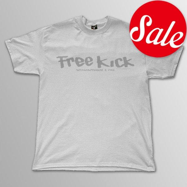 画像1: FREE KICK / Logo WHxWH T/S (1)