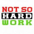 画像3: Not So Hard Work / ATCQ ホワイト T/S (3)
