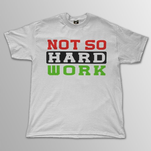 画像1: Not So Hard Work / ATCQ ホワイト T/S (1)