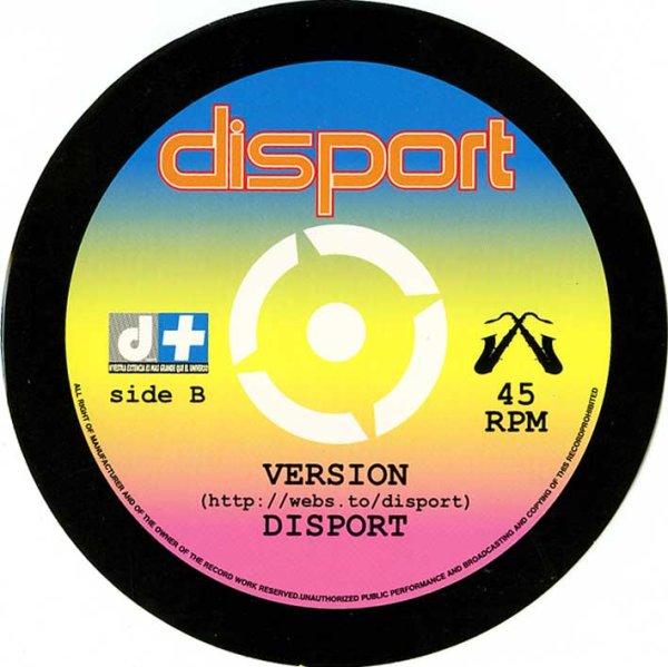 画像1: Disport / Version ステッカー (1)